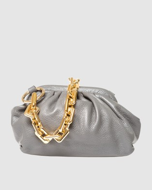 Marlafiji Christy Pouch Bag - Bags (Grey)