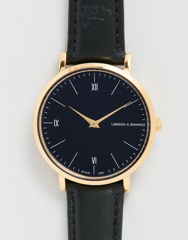 Larsson & Jennings - Code Classic Leather 38mm