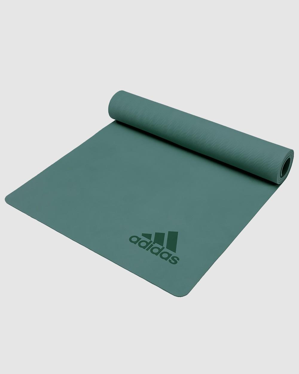 adidas Performance Premium Exercise Mat Green All boxing Green