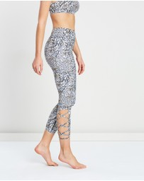 Dharma Bums - Printed Barre Leggings