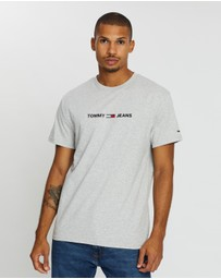 Tommy Jeans - Straight Small Logo Tee