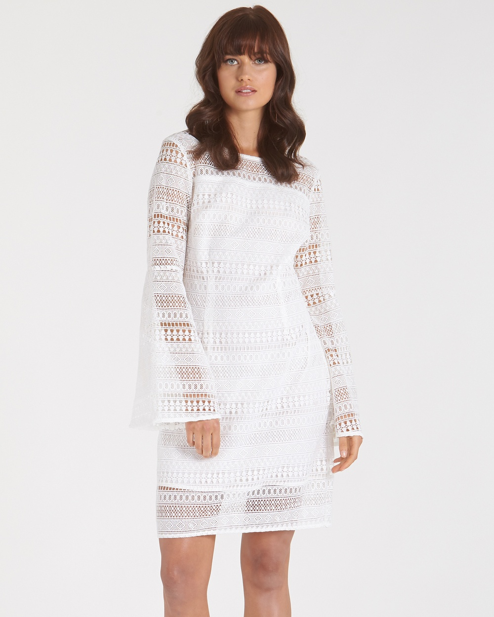 Amelius Brielle Lace Dress Dresses White Brielle Lace Dress