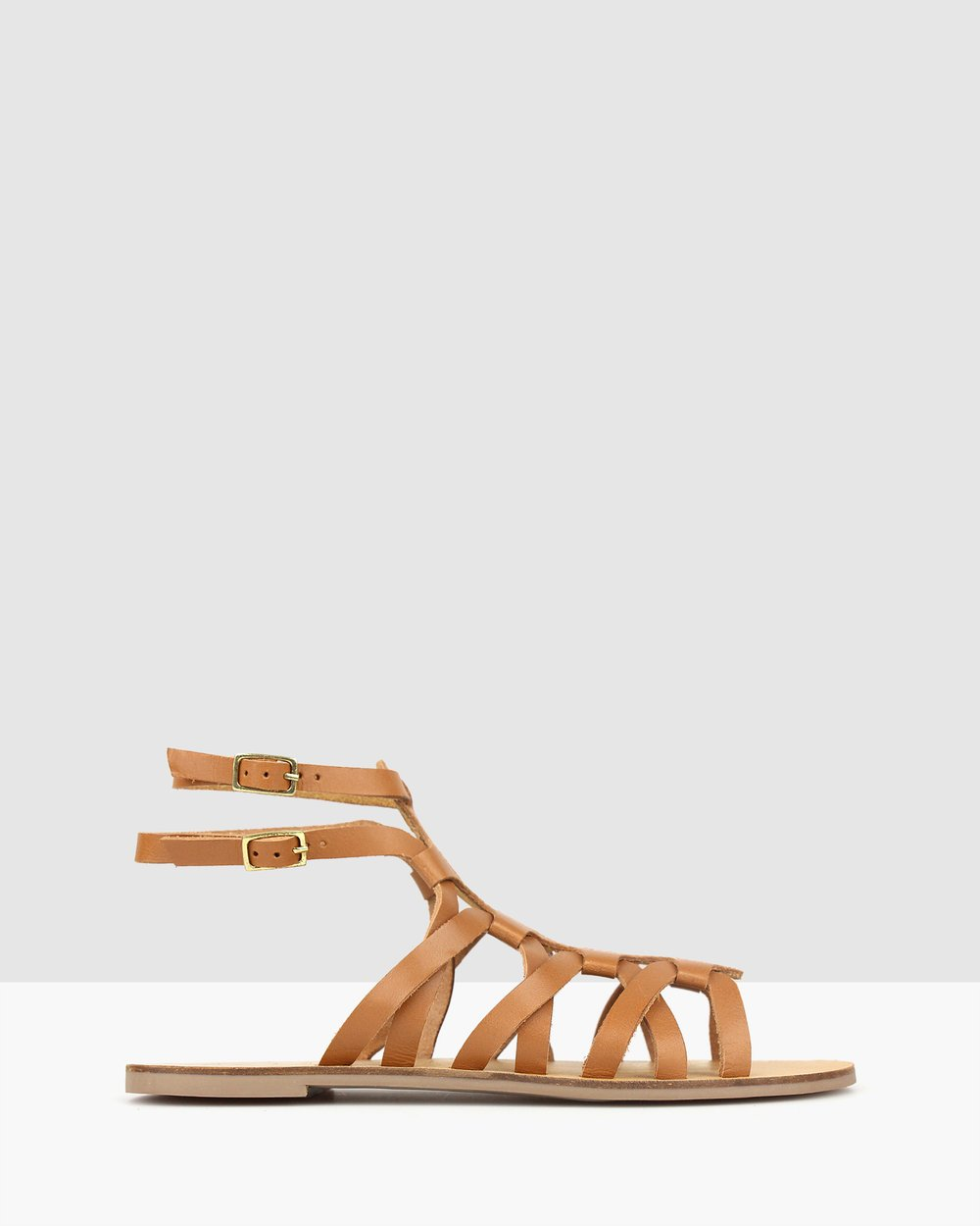 fa8169a372e4 Troy Leather Gladiator Sandals by Betts Online