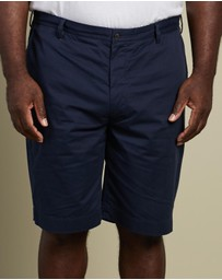 Polo Ralph Lauren - Plus Stretch Cotton Twill Shorts