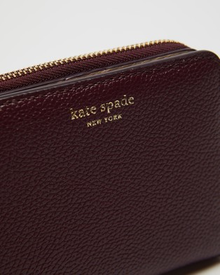 Kate Spade Margaux Small Bifold Wallet - Wallets (Deep Cherry)