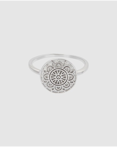 Pastiche Water Poppy Ring Silver