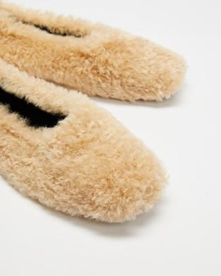 M.N.G Sleep - Slippers & Accessories (Light Pastel Brown)