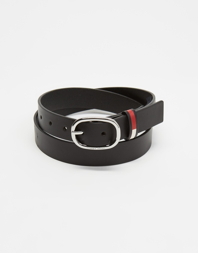 Tommy Hilfiger - Oval Flag Inlay Belt