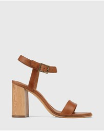 Wittner - Pauline Leather Block Heel Sandals