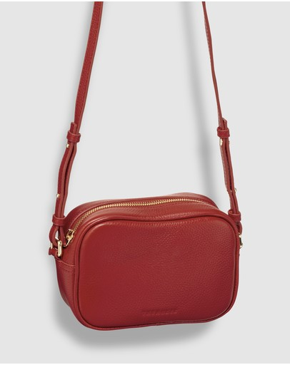 The Horse Crossbody Bag Vintage Red