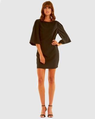 Amelius - Divine Shift Dress - Dresses (Black) Divine Shift Dress