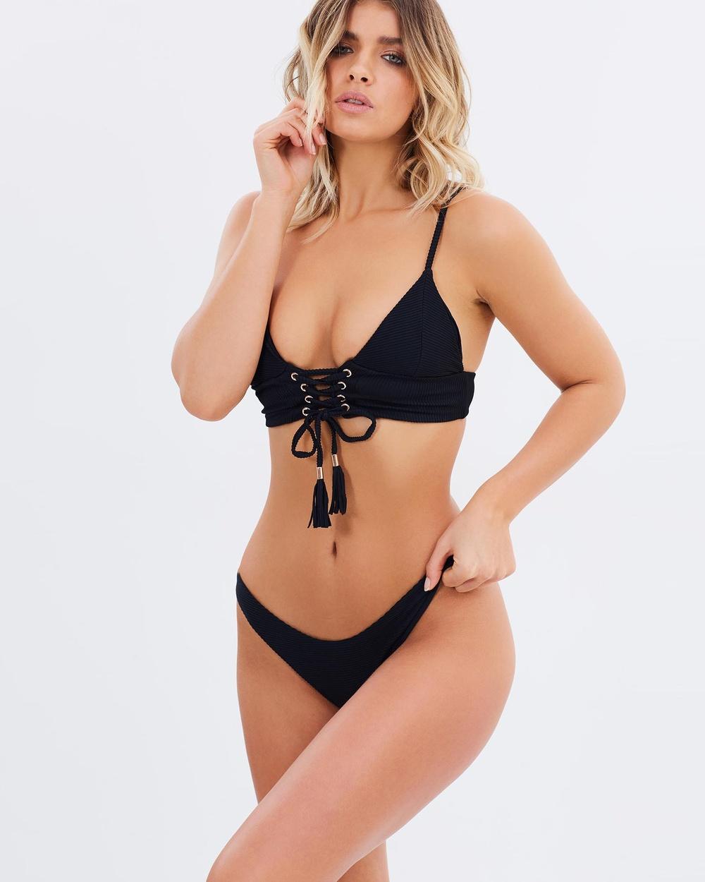 Kopper & Zink Jackson Bikini Bottoms Bikini Bottoms Black Jackson Bikini Bottoms