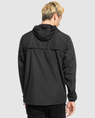 Quiksilver Mens Everyday Hooded Windbreaker - Coats & Jackets (Black)