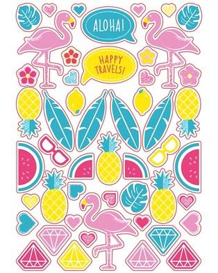 Trunki Trunki Suitcase - Travel and Luggage (Flossi Flamingo)
