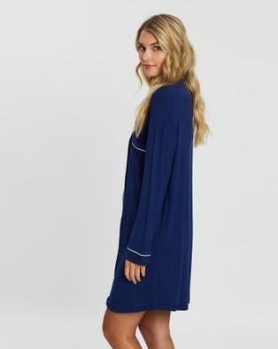 Papinelle Modal Kate Nightshirt - Sleepwear (Navy)