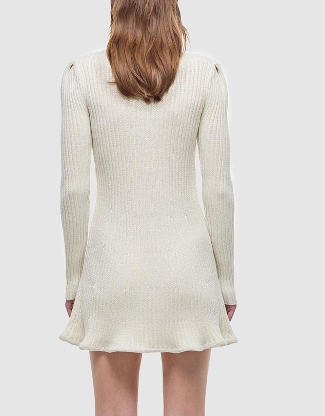 Women Lurex Knit Dress
