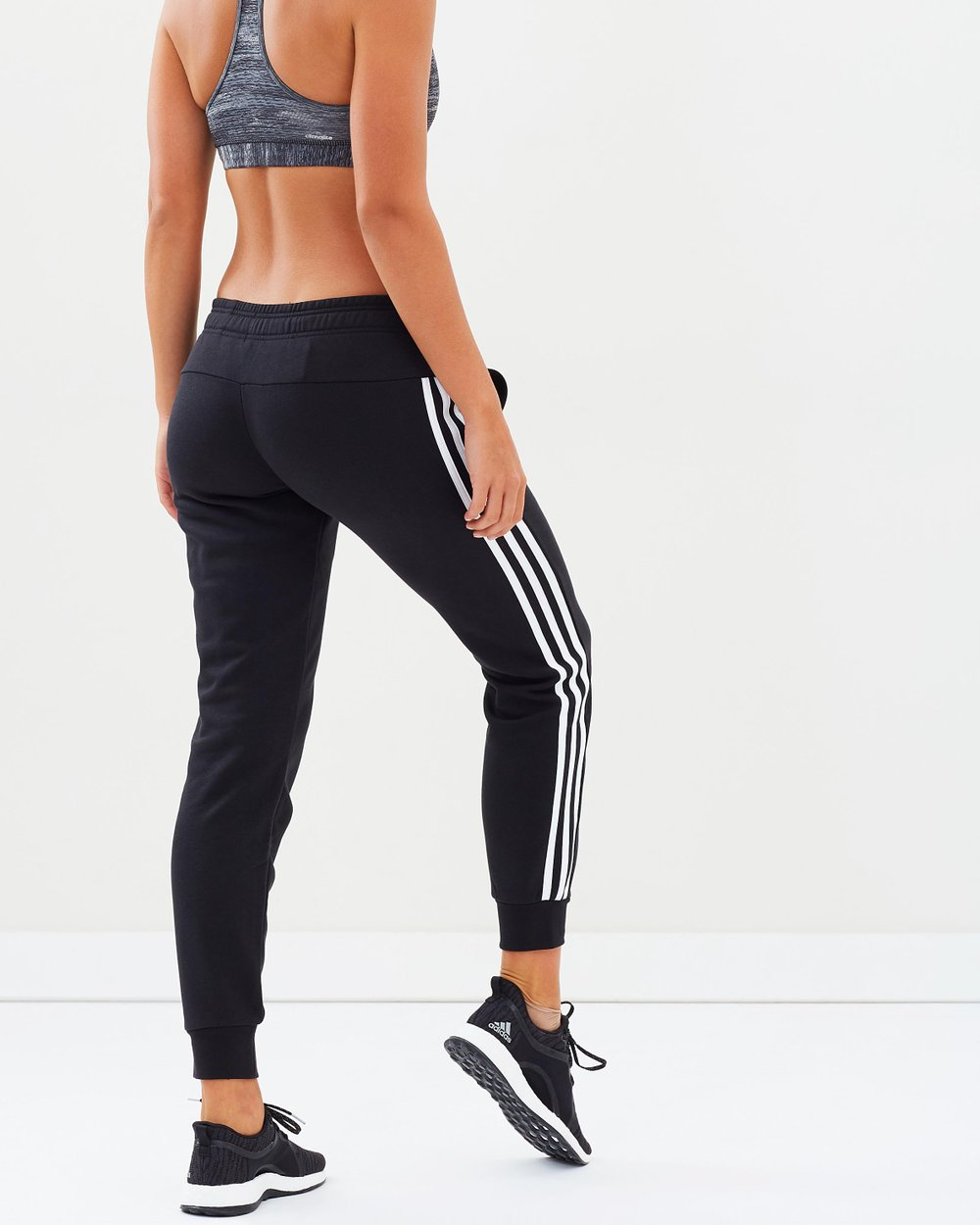 f378b671392 Essentials 3-Stripes Closed Hem Slim Pants by adidas Performance Online