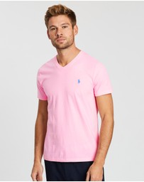 Polo Ralph Lauren - Custom Slim Fit Cotton T-Shirt