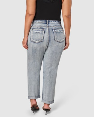 Sunday In The City Exit The Void Boyfriend Jeans - Jeans (blue)