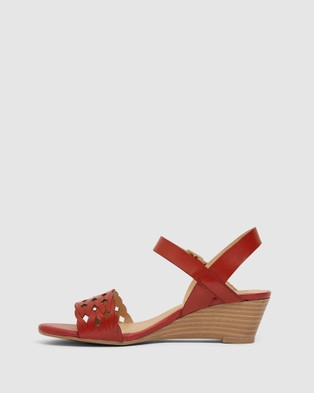 Easy Steps Callum - Wedges (Red)