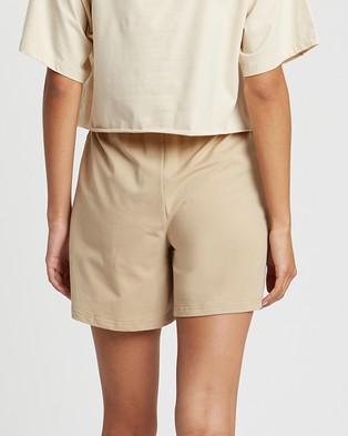 ST MRLO Viginia Shorts - High-Waisted (Light Tan)