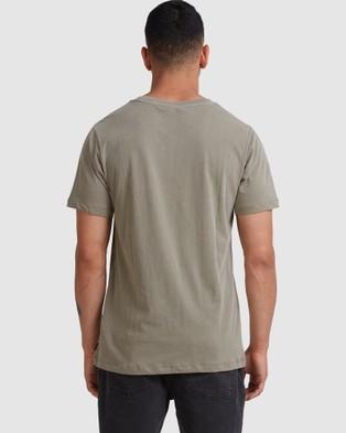 RVCA - Rvca Shadow Ss Tee - T-Shirts & Singlets (ALOE) Rvca Shadow Ss Tee