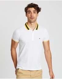 Tommy Hilfiger - Knitted Tipped Collar Slim Polo