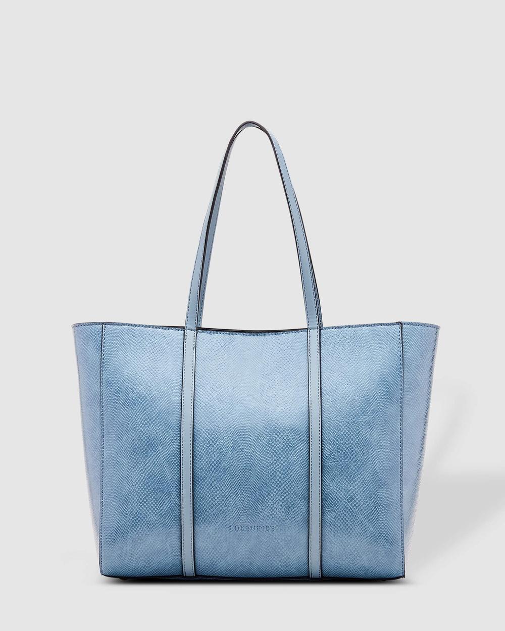 Louenhide Kentucky Handbag Handbags Lizard Denim