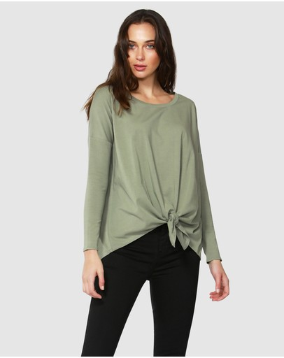 Betty Basics - Willow Knot Top
