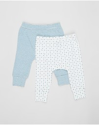 Pappe - 2-Pack Joy Stretchy Leggings - Babies