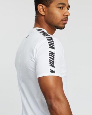 VILLIN Slim Fit Made Tee - T-Shirts & Singlets (White)