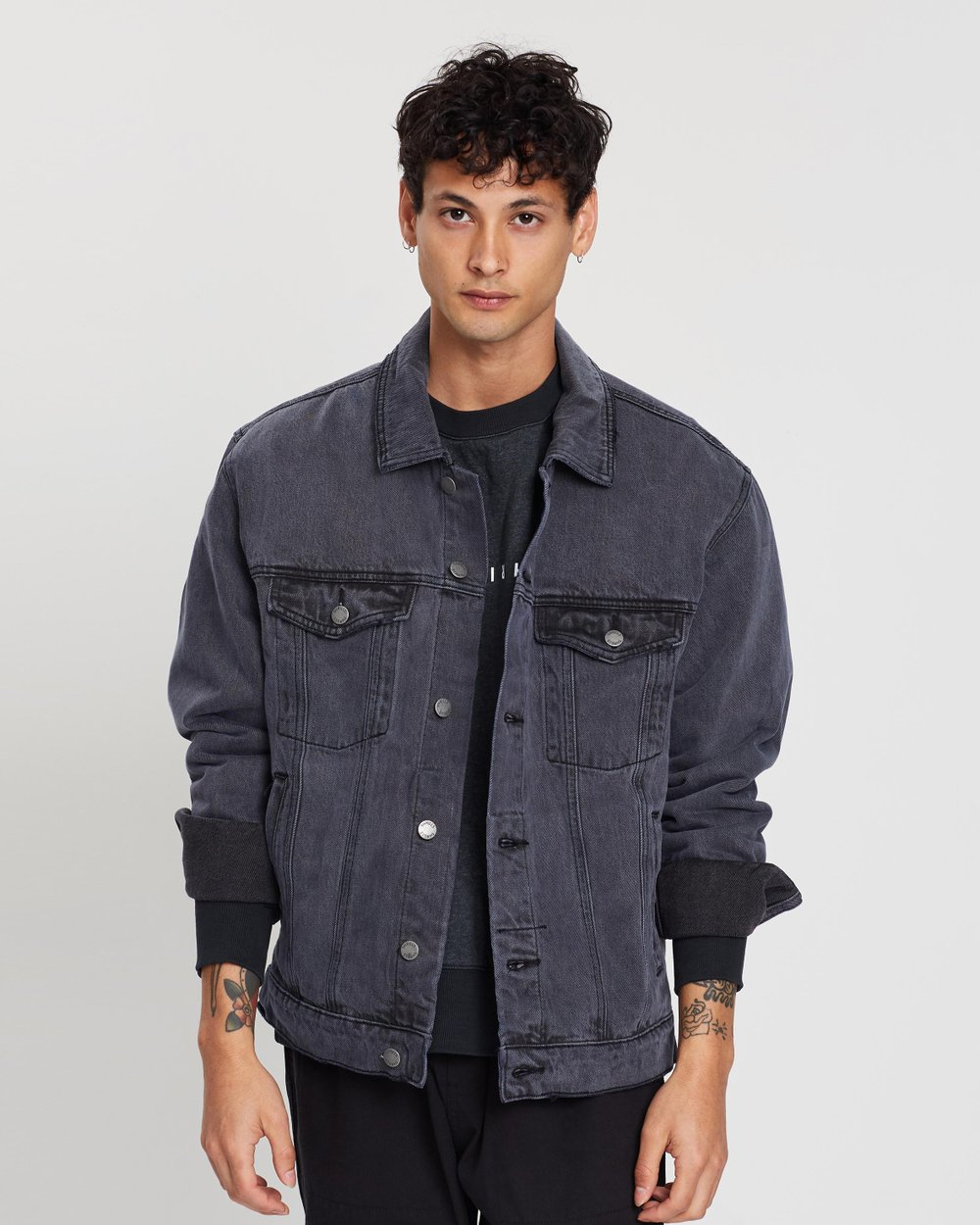 ac48ca52 Oversized Wanderer Denim Jacket by Thrills Online | THE ICONIC | Australia