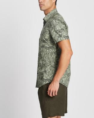 Marcs Angola SS Shirt - Casual shirts (Sage)