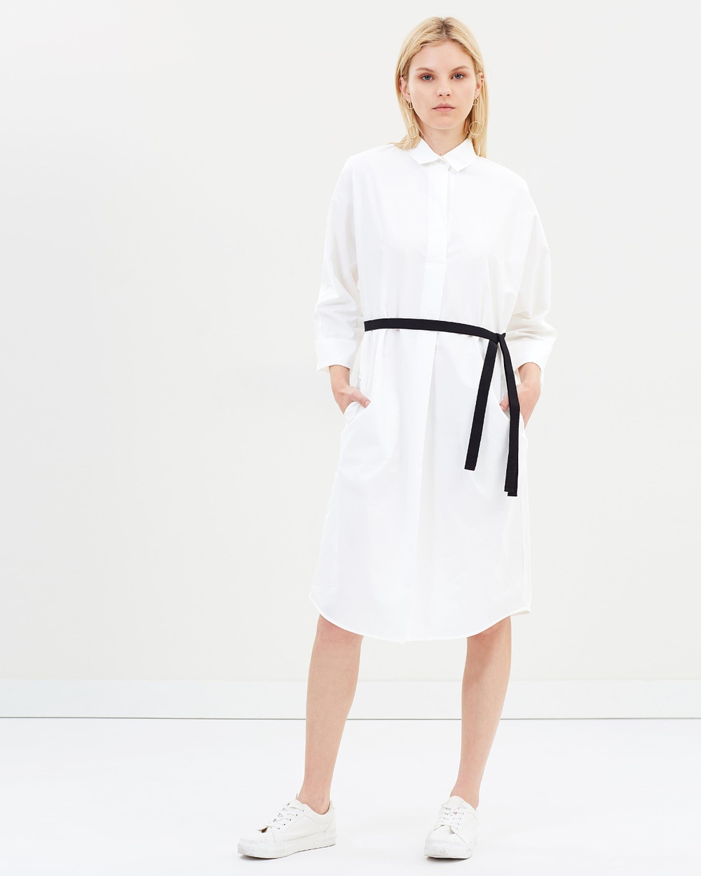 Weekend Max Mara Ace Tee Dresses White Ace Tee