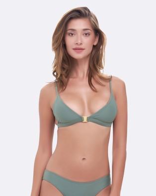 Gypsea – Olive, Talia Top Green