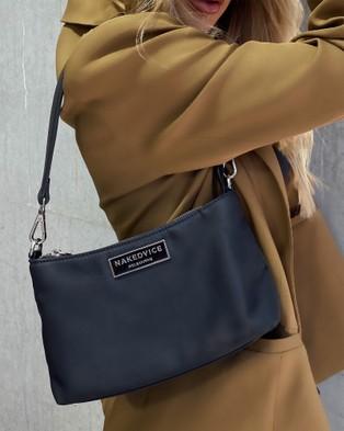 Nakedvice The Christy Nylon - Handbags (Black)