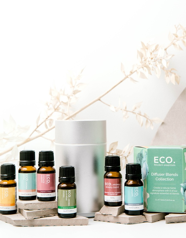 ECO. Modern Essentials - ECO. Nebulizing Diffuser & Diffuser Blends Collection