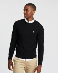 Polo Ralph Lauren - Loryelle Wool Long Sleeve Crew Neck Sweater
