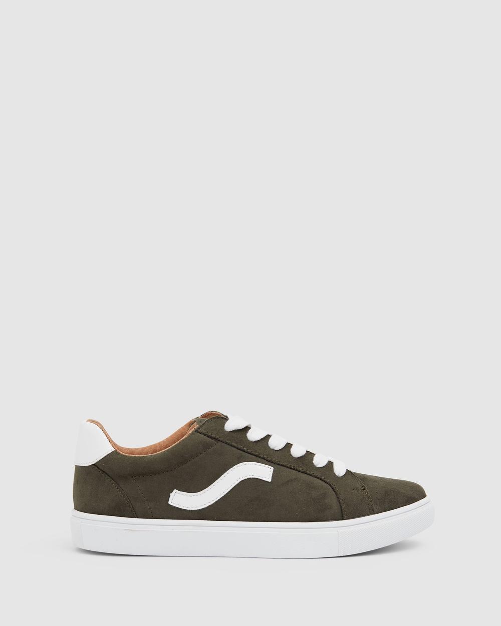 Sandler Swerve Sneakers KHAKI Australia
