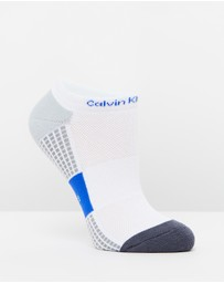 Calvin Klein - Cotton Coolmax Cushion Liner Socks