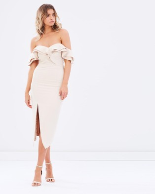 Ivory & Chain – Midnight Hour Dress – Dresses (Sand)
