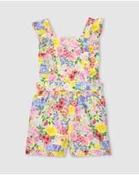 Milky - Summer Floral Playsuit - Kids