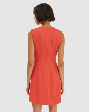 SABA Dharma Mini Dress - Dresses (Papaya)