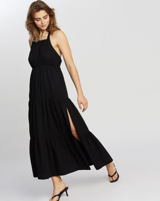 MINKPINK Fabled Maxi Dress - Dresses (Black)
