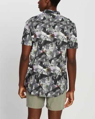 Silent Theory Washed Up Short Sleeve Shirt - Shirts & Polos (PRINT)
