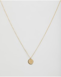 Natalie Marie Jewellery - ICONIC EXCLUSIVE - Mini Initial Necklace
