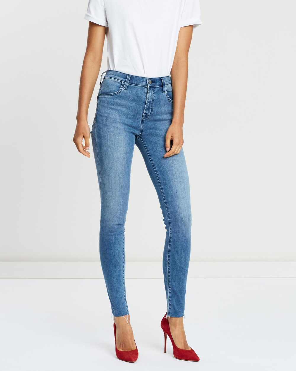 daf38defb40a Maria High-Rise Skinny Jeans by J Brand Online