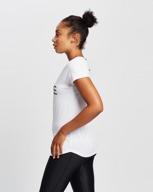 MORE BODY Companion Torso T Shirt - Short Sleeve T-Shirts (White)