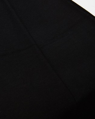 Bamboo Body Bamboo Cashmere Wool Travel Wrap - Scarves & Gloves (Black)