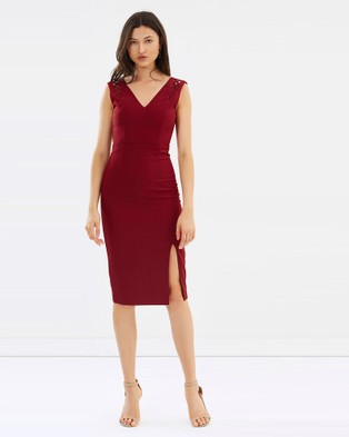Grace Willow – Fontaine Dress Cherry